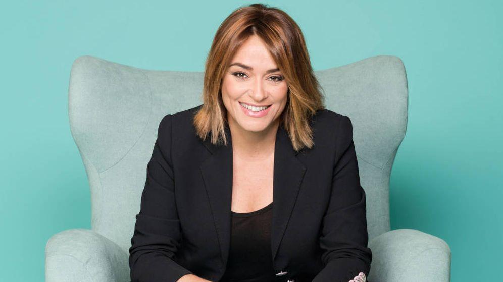 Foto: Posado de la presentadora Toñi Moreno. (Mediaset)