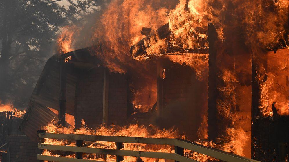 Foto: Incendios en Nueva Gales del Sur, Australia. (EFE)