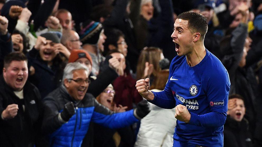 Hazard no renueva con el Chelsea porque espera la llamada del Real Madrid