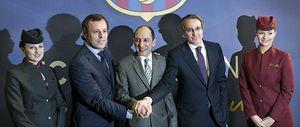 El Barça lucirá Qatar Airways en su camiseta hasta junio de 2016