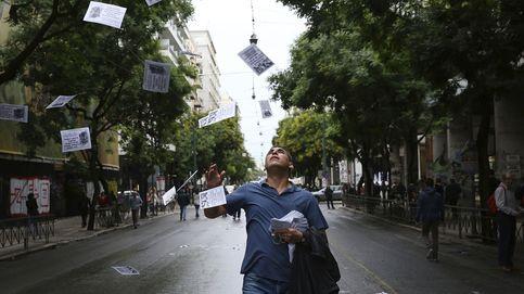 Grecia vive la primera huelga general del año