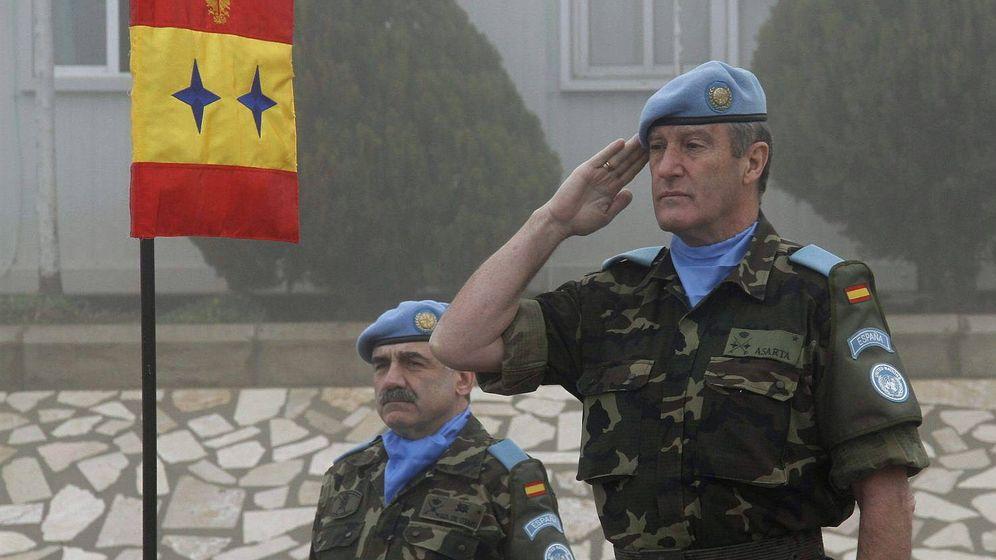 Foto: Fotografía de archivo del general Alberto Asarta. (EFE)
