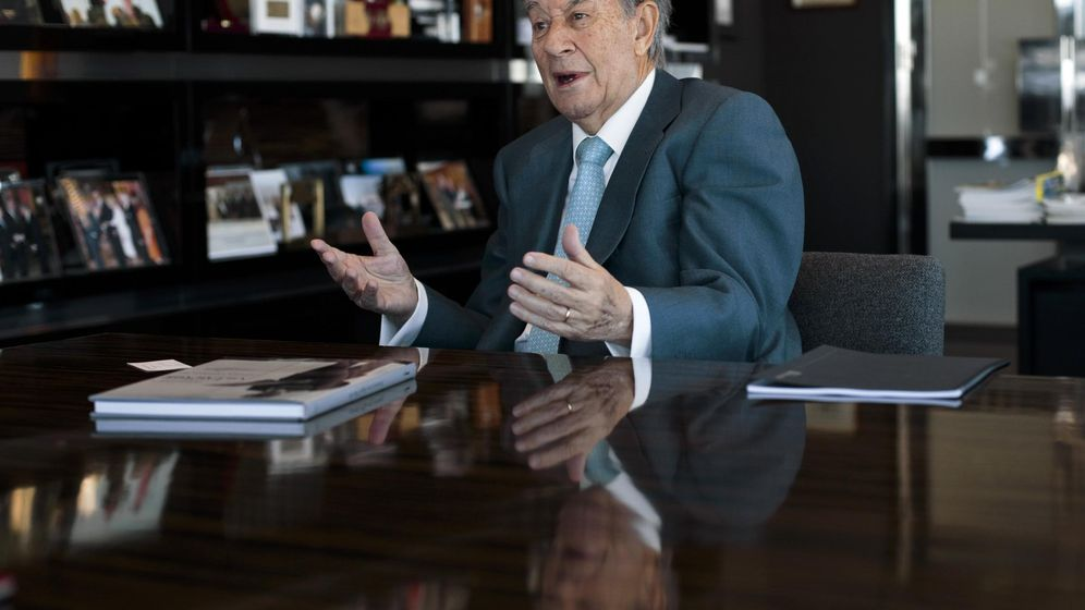 Foto: El expresidente de OHL Juan Miguel Villar Mir. (Reuters)