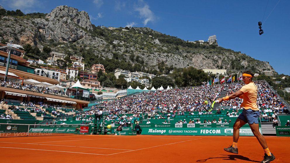Así fue la victoria de Rafa Nadal en su debut en el Masters 1000 de Montecarlo