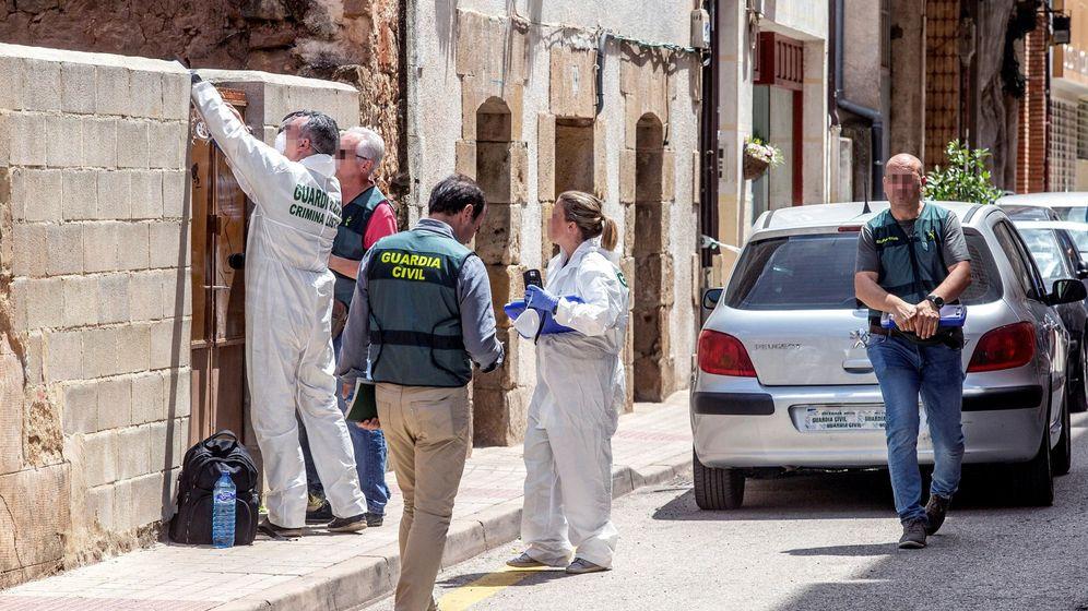 Foto: Detenciones en Burgos por violencia machista. (EFE)