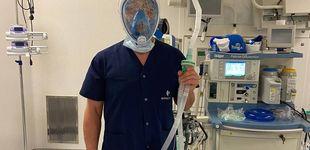 Post de Snorkel 'tuneado' y ropa reutilizable: el plan de emergencia de un médico en la UCI vasca