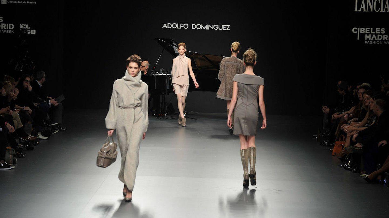 Desfile de Adolfo Domínguez en la Cibeles Fashion Week. (Getty)