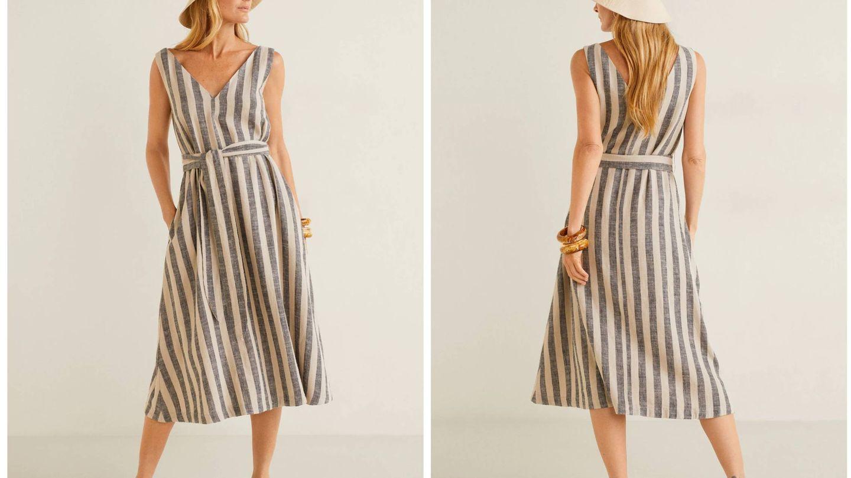 Nuevo vestido de Mango. (Cortesía)
