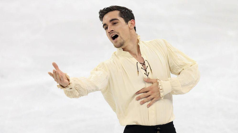 Foto: Javier Fernández en un momento de su actuación. (Gtres)