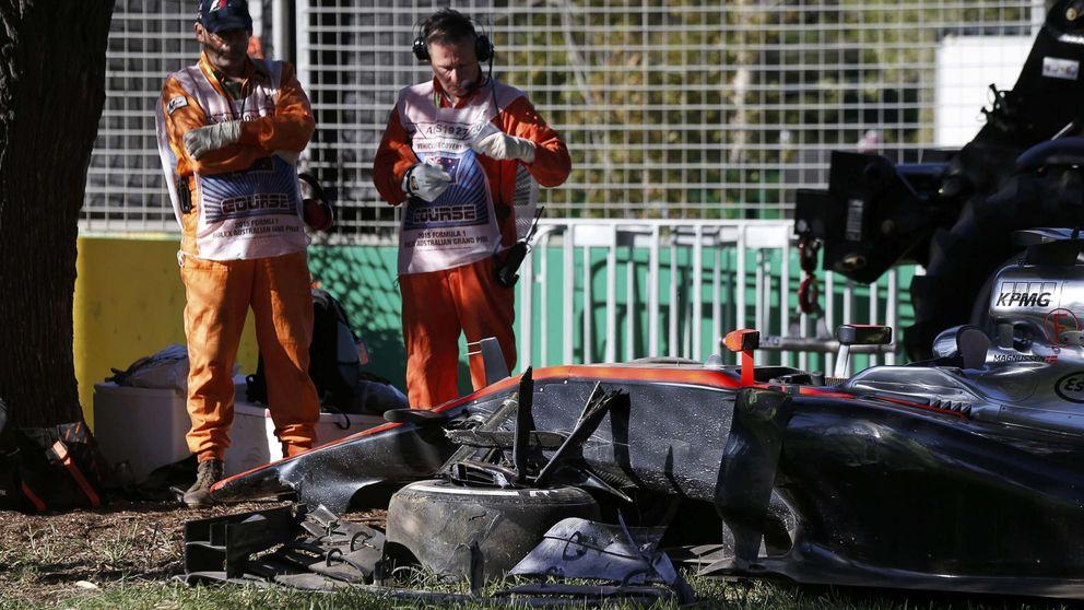 Ración de Mercedes para variar con un gran Sainz y McLaren estrellado