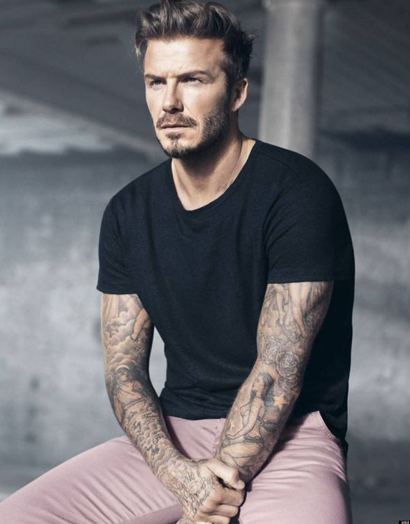 Foto: David Beckham.