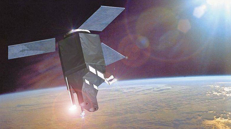 Ilustración del próximo satélite civil SeoSAT/Ingenio. (Sener)