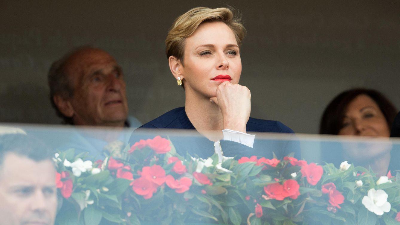 Foto: Charlène de Mónaco en el Open de Tenis de Montecarlo (Gtres)