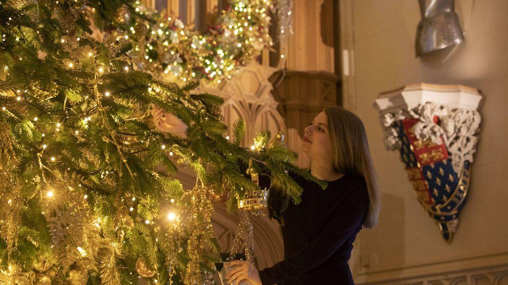 Nos Colamos En El Palacio De Windsor Para Ver La Decoración Navideña