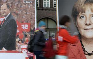 Merkel deberá pactar: un empate técnico resucita la Gran Coalición