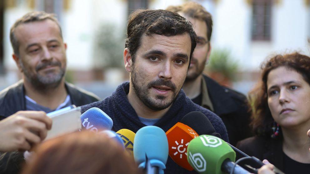 Garzón afirma que IU no tiene miedo a debatir sobre un cambio de siglas