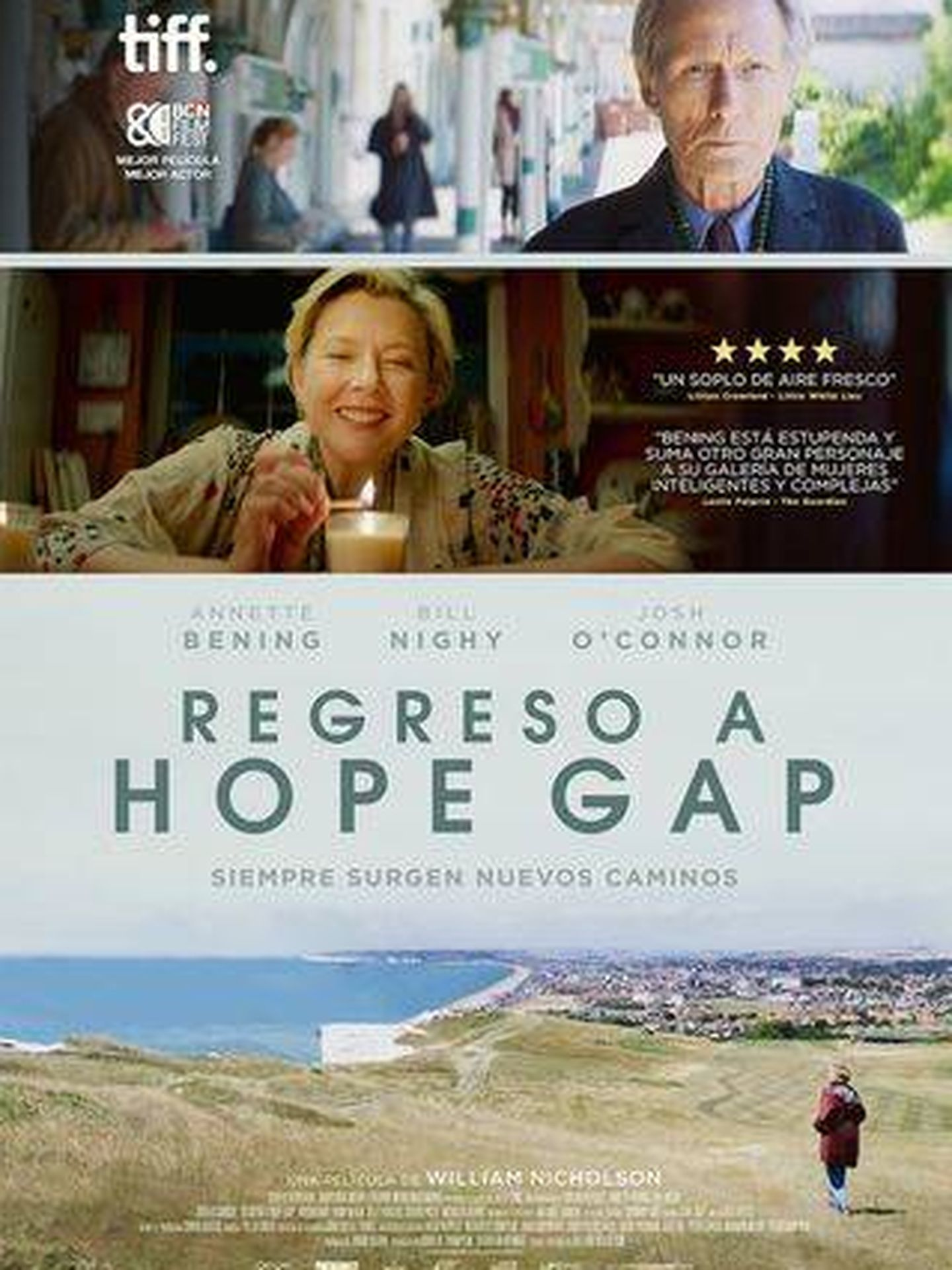 Cartel de 'Regreso a Hope Gap'
