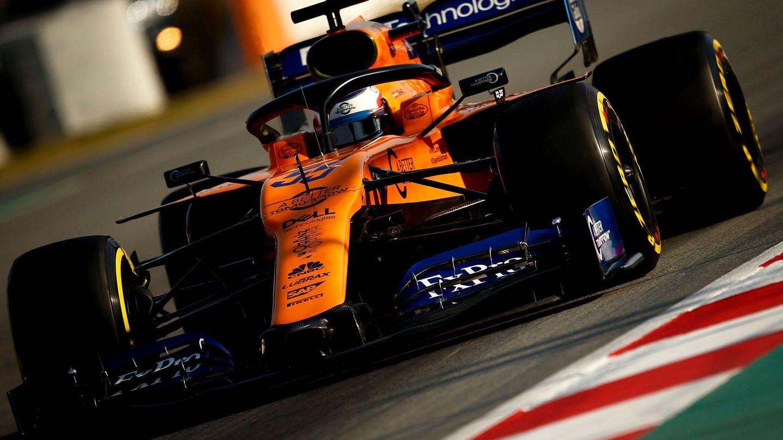 Carlos Sainz terminó con buenas sensaciones los test de pretemporada. (EFE)