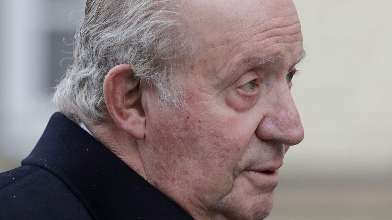 El rey Juna Carlos llega al funeral del gran duque Jean de Luxemburgo. (EFE)