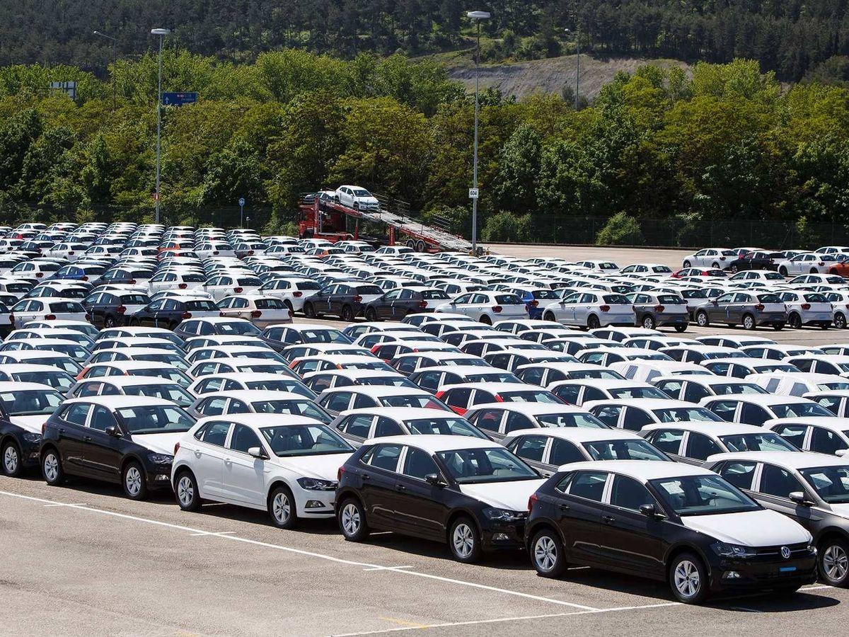 Foto: Los Volkswagen Polo fabricados en Landaben se han visto afectados por la subida del Impuesto de Matriculación desde principio de año.