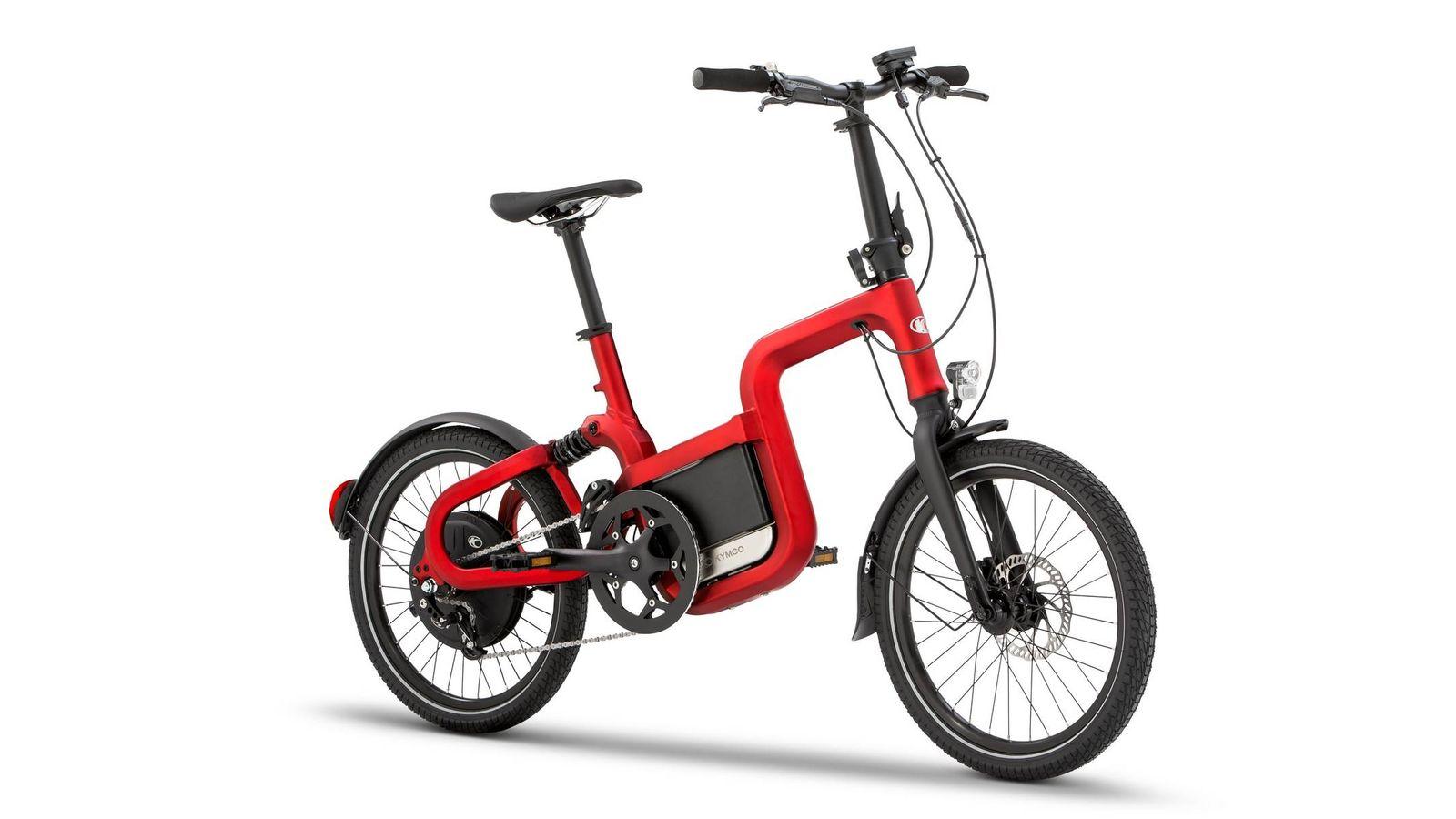 Foto: KYMCO Q-lite, la versión de acceso a la nueva gama de e-bikes de la firma taiwanesa.