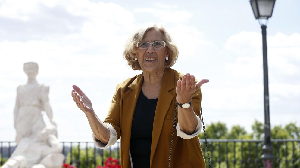 Foto: La candidata a la Alcaldía de la capital por Ahora Madrid, Manuela Carmena. (EFE)