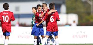 Post de España no pasa de octavos en el torneo masculino de la Danone Nations Cup