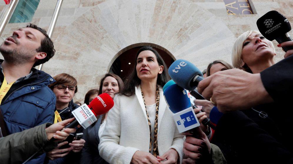 Foto: La portavoz de Vox en la Asamblea de Madrid, Rocío Monasterio (EFE)