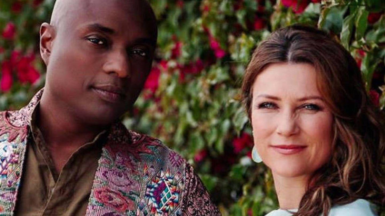 Marta Luisa de Noruega y su pareja, el chamán Durek Verret. (Redes sociales)