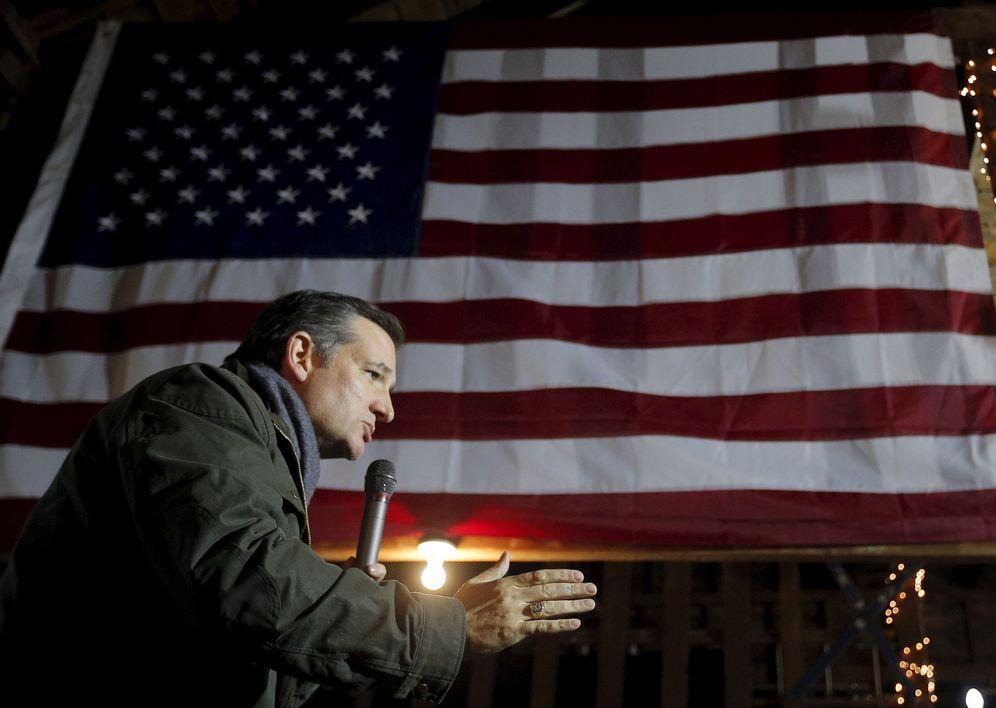 Foto: El candidato republicano Ted Cruz, durante un evento de campaña en Rye, New Hampshire, el 19 de enero de 2016. (Reuters)