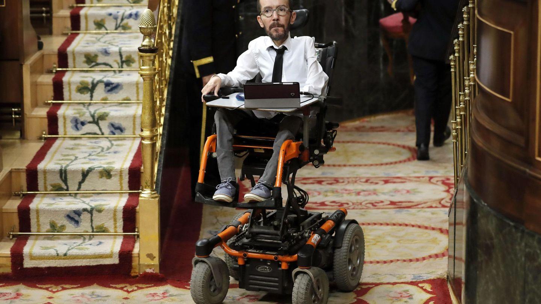 El portavoz de Unidas Podemos en el Congreso, Pablo Echenique. (EFE)