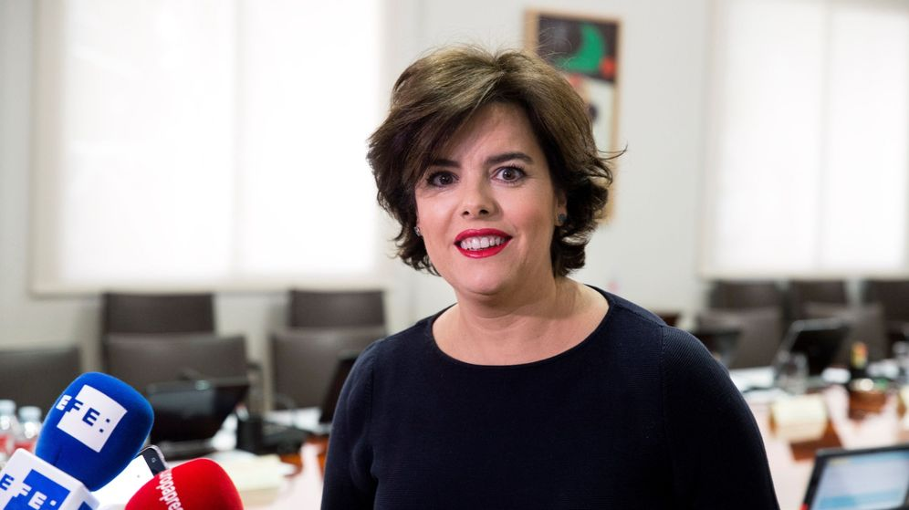 Foto: La vicepresidenta del Gobierno, Soraya Saénz de Santamaría. (Efe)