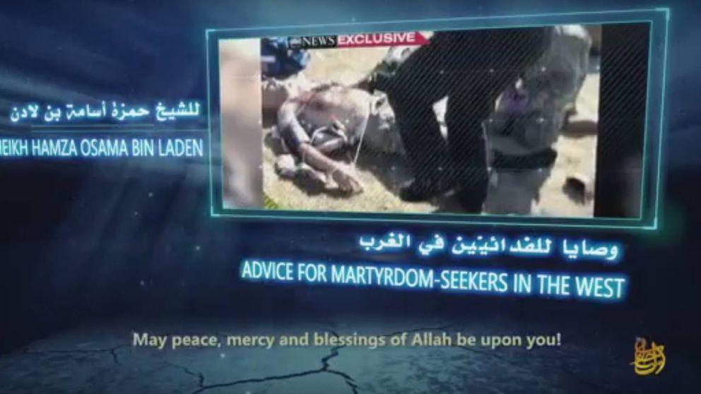 Terrorista como su padre: Al Qaeda promueve al hijo de Bin Laden para recuperar prestigio