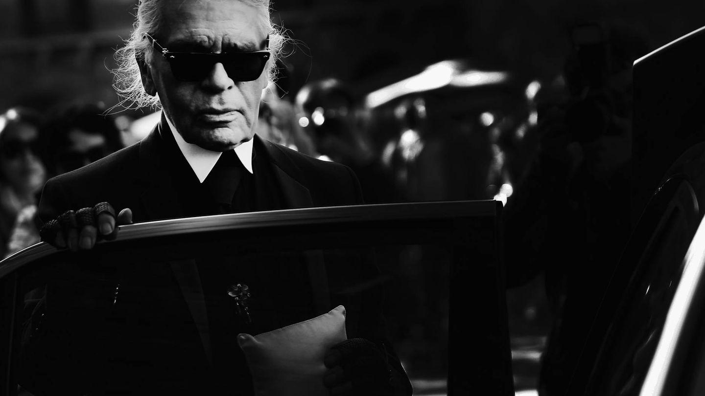 Karl Lagerfeld, en una imagen de archivo. (Getty)