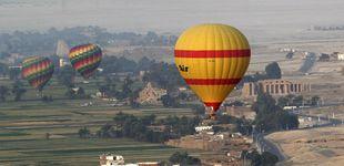 Post de Un muerto y cuatro españoles heridos en un accidente de globo en Egipto