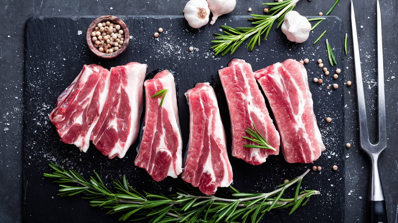 Costillas de cerdo. (iStock)