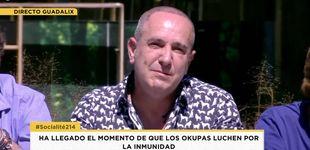 Post de Víctor Sandoval se rompe en 'Sálvame Okupa':