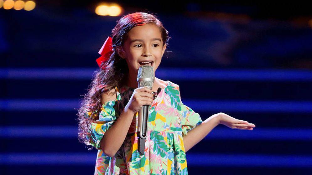Foto: La pequeña Marian Lorette. (Las Estrellas)