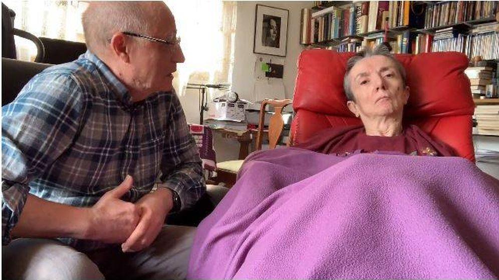Foto: Ángel Hernández y su mujer María José Carrasco antes de morir