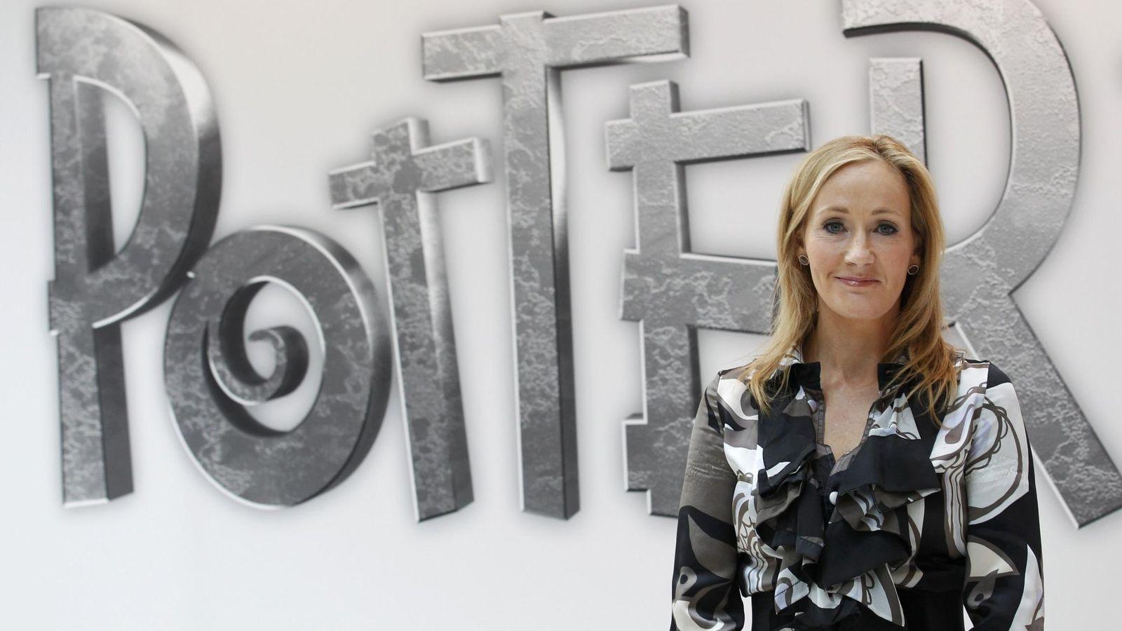 Foto: La autora británica JK Rowling.