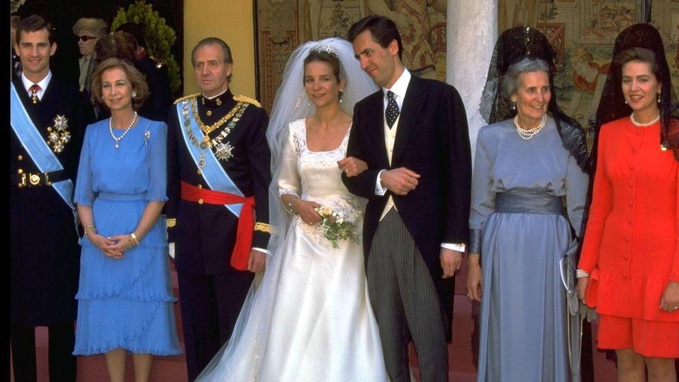 Infanta Elena y Jaime de Marichalar: hace 24 años de su boda en Sevilla