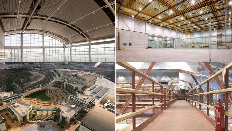 Diferentes instalaciones de la Ciudad de la Luz. (ciudaddelaluz.com)