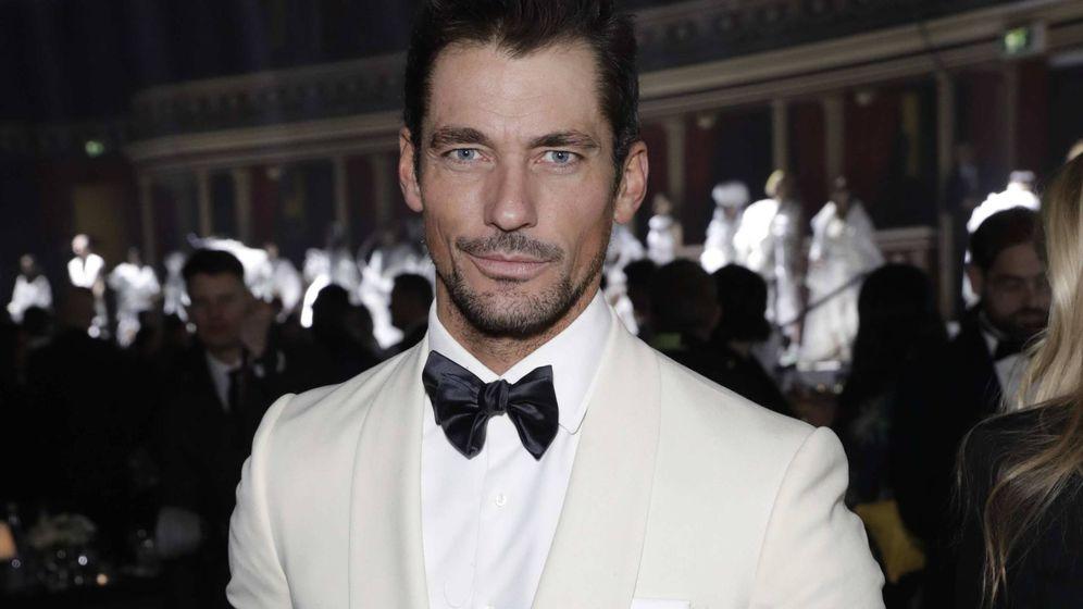 Foto: El modelo británico David Gandy puede presumir de tener unos rasgos muy marcados. (Getty)