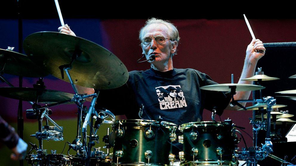Muere el mítico batería Ginger Baker, fundador de Cream junto a Eric Clapton