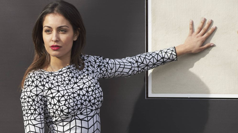 Foto: Hiba en uno de sus últimos looks sin chándal (Imagen: Getty Images)