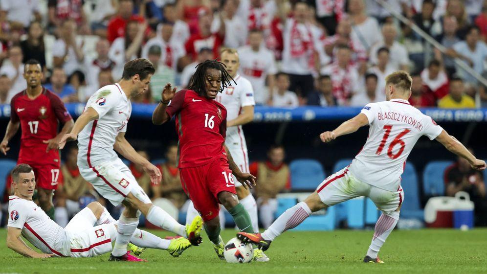 Foto: Renato fue el mejor jugador portugués en los cuartos de final (Miguel A. Lopes/EFE/EPA)