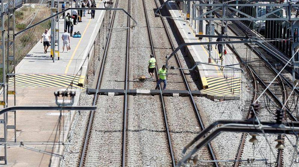Foto: Muere un joven en Mollet del Vallès arrollado por un tren. (Efe)