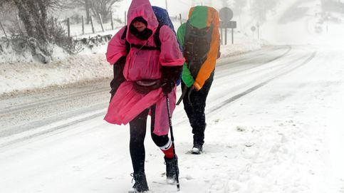 Temporal de nieve en el norte y alerta por viento en varias provincias