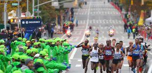 Post de Los famosos españoles en la Maratón de NY y la 'caída' de Pallete en tiempos