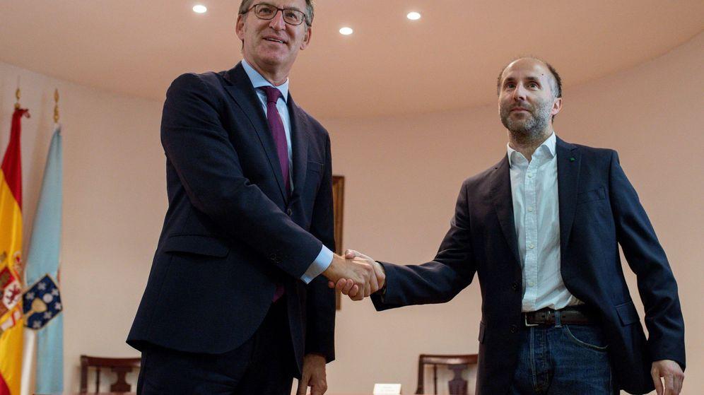 Foto: Feijóo se reúne con el alcalde de ourense
